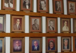 Photo of former mayors