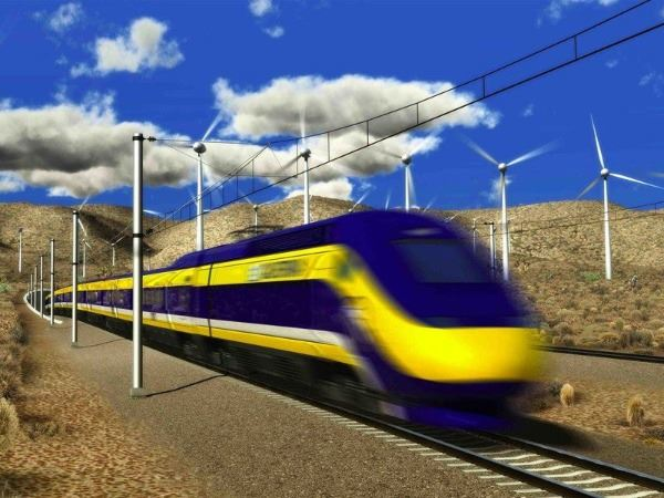High Speed Rail Through Tehachapi