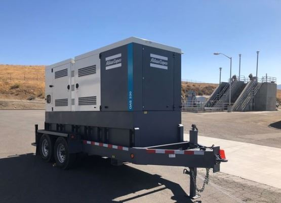 Generator purchased through Cal OES Grant