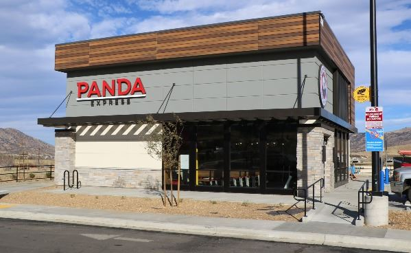 Outside Photo of Panda Express Building