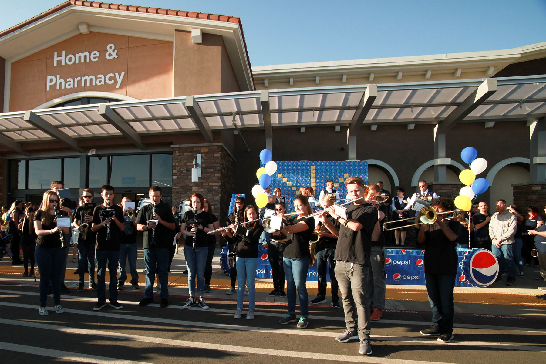 THS Band at Walmart