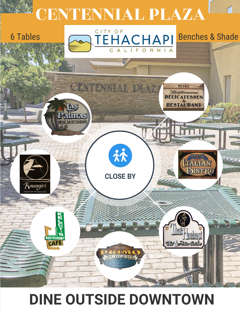 Centennial Plaza Dining Graphic